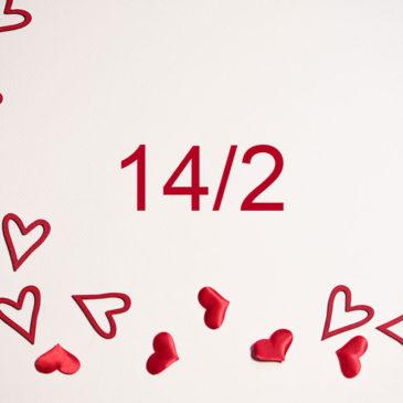 Alla hjärtans dag 14 feb
