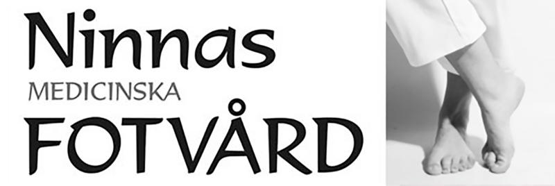 Ninnas fotvård logo